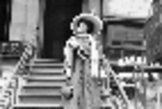 PHOTO: Public Domain photo of Trixie Friganza campaigning for women�s suffrage. Courtesy kilmerhourse.com