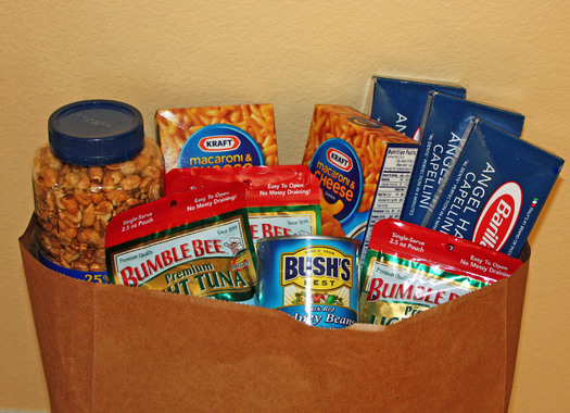 PHOTO: bag of groceries. Photo credit: Deborah Smith