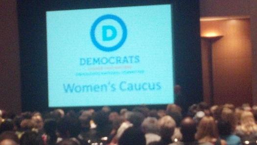 PHOTO: DNC Women's Caucus. Photo by Stephanie Carroll Carson.