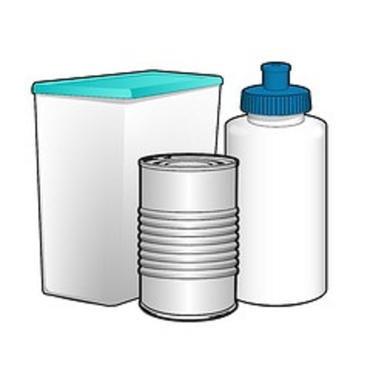 IMAGE: Graphic of plastic and aluminum containers. Courtesy of fda.gov.