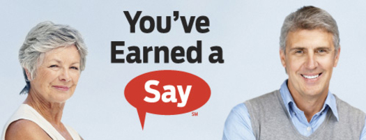 GRAPHIC: You've earned a say