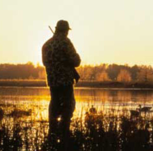 Photo: Hunter in Sunrise   Courtesy of: NWF