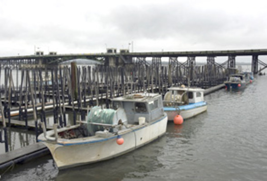 PHOTO: Commercial Fishing Boats in Astoria. Photo by Rick Swart.