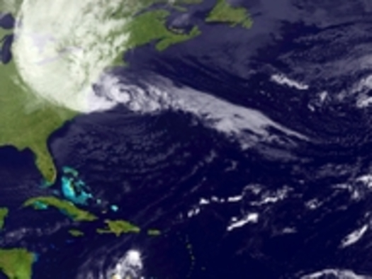 IMAGE: NOAA Satellite Hurricane Sandy