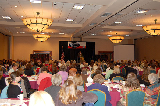 PHOTO: Attendees at a previous Idaho Hunger Summit. Courtesy of the Idaho Hunger Relief Task Force.