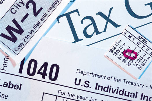 PHOTO: The search is on for those select few in New Hampshire who actually get a kick out of preparing tax returns.