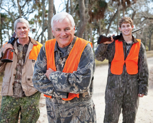 PHOTO: Hunters are encouraged to be 'heart smart' as they hit the fields and forests this season. Photo courtesy of the American Heart Association.