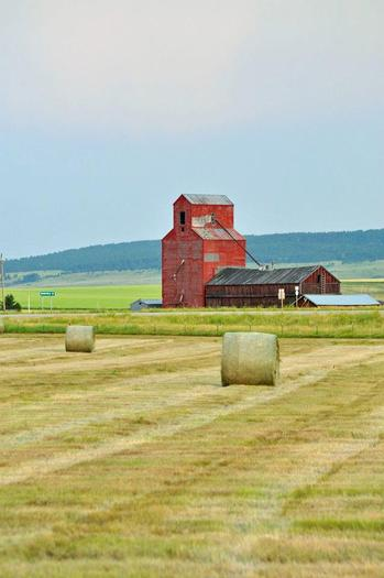 PHOTO: Farmland near Lewistown, Mont. Photo credit: Deborah C. Smith.