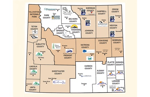 GRAPHIC:  A listing of clinics, as well as substance abuse treatment centers in each county, is at WyomingWellness.com.
