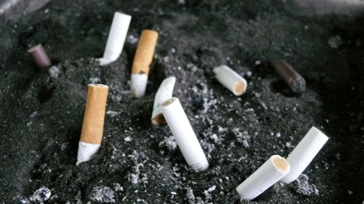 PHOTO: A new poll shows support is rising in Kentucky for a statewide law to snuff out smoking in public places.