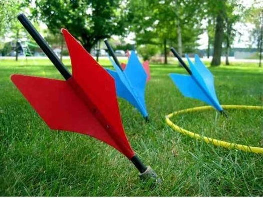 "PHOTO: Lawn darts made the list of the ""10 Most Dangerous Toys of All Time"" from the American Association for Justice. Courtesy of AAJ."