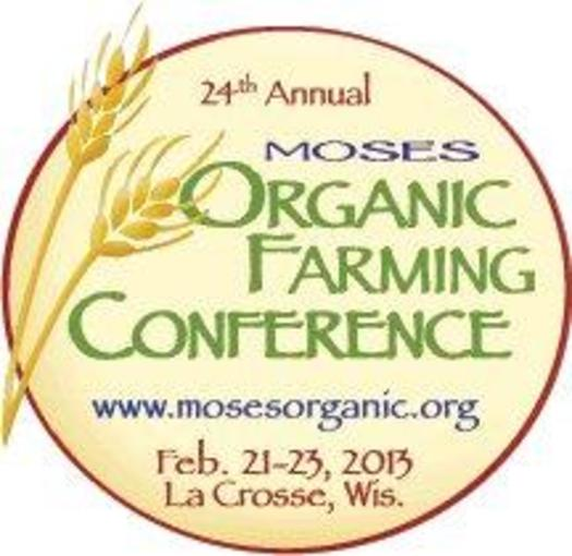 GRAPHIC:  Organic Farming Conference Logo, courtesy of MOSES