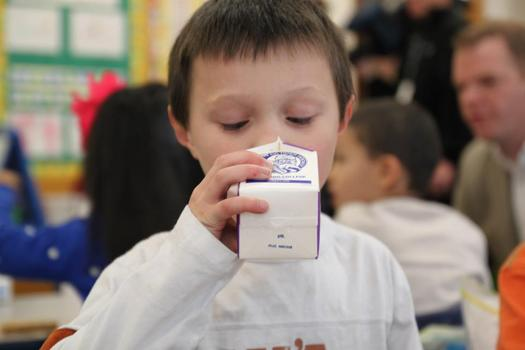 More kids are getting breakfast in school, according to the Food Research and Action Center. But in Massachusetts, aside from Boston public schools, the percentage of children getting in-school breakfasts � while up this school year � lags behind the nation. Photo courtesy FRAC.