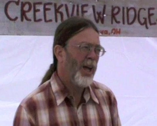 PHOTO: Kip Gardner of Creekview Ridge Farm shares his concerns about the impact of fracking on a new webpages at oeffa.org.