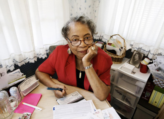 Retired St. Louis teacher paying bills         Courtesy: AARP