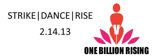 IMAGE: One Billion Rising comes to several Arizona communities on Valentine's Day (Feb. 14) to focus on ending violence against women.