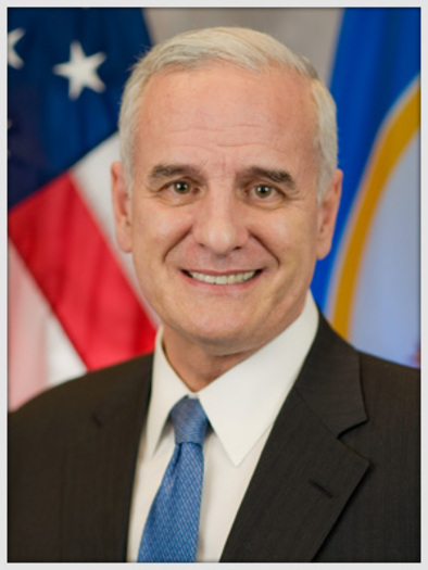 PHOTO: Gov. Mark Dayton will be in Roseau today to talk with local officials and business leaders about the lack of affordable housing for workers in areas of job growth in Minnesota.