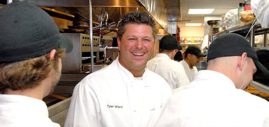 PHOTO: Chef Tyler Wiard at Elway's Cherry Creek. Courtesy Elway's Cherry Creek.