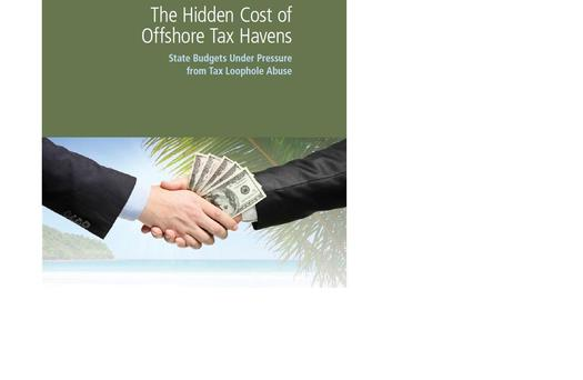 According to the new report The Hidden Cost of Offshore Tax Havens, tax systems in the U.S. lose nearly two hundred billion dollars each year to the offshore loopholes. Graphic courtesy of U.S. PIRG.