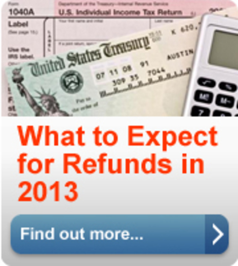PHOTO: Last-minute changes will delay federal income tax refunds for some. The average refund timing has gone from 9 days in past years, to 21 this year. Courtesy: IRS.gov