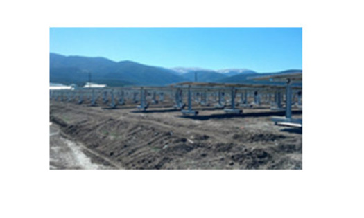 This RCCLA Amalia solar array is located in Taos County, New Mexico.PHOTO: Courtesy of Kit Carson Electric Cooperative.