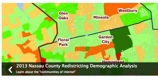 PHOTO: Republicans say the map is a fair reflection of demographic shifts, but county lawmakers postponed a vote on the second version of their district map last week after about 200 citizens turned out to oppose the plan.