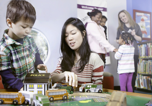 PHOTO: With renewed emphasis on early childhood development in Albany and Washington, DC, advocates are hoping more attention is paid to the roll public libraries can play. Photo courtesy MCPL