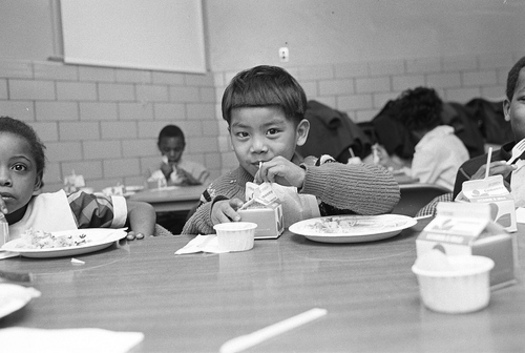 PHOTO: A new initiative is underway, to get more Minnesota children who receive free or reduced priced lunch to also take part in breakfast programs. Photo credit: USDA