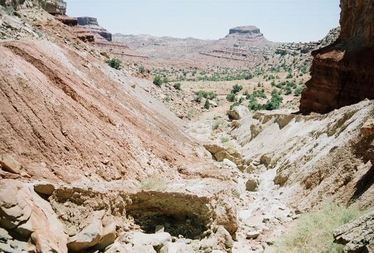 PHOTO: The San Rafael Swell area that straddles Wyoming and Utah is of interest to oil and gas developers, and has been the subject of a two-year court case. Courtesy Bureau of Land Management.