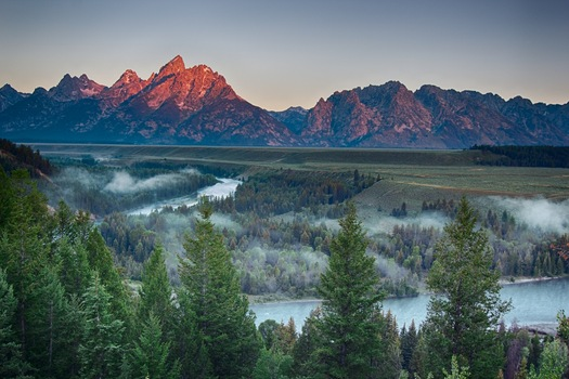PHOTO: Grand Teton National Park, as captured by Chris Mabey. He plans to spend the summer focusing his lens on the maintenance backlog at national parks in the West. Photo credit: Chris Mabey Photography.