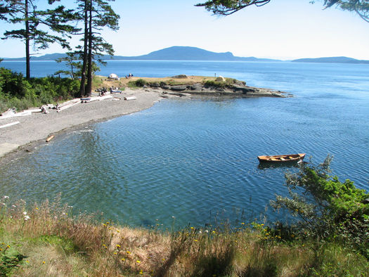 "PHOTO: They don't call 'em the ""scenic San Juans"" for nothing. New national monument designation will bring added protections to Patos Island, and other picturesque spots. Photo credit: Linda Hudson."