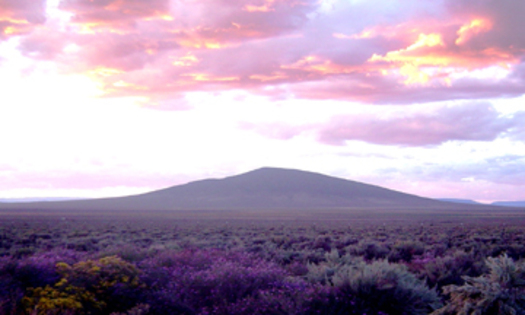 PHOTO: Ute Mountain is part of the new Rio Grande del Norte National Monument. Photo credit: Stuart Wilde