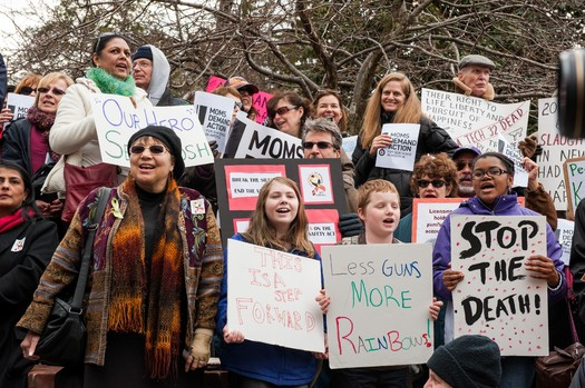 PHOTO: Grassroots groups are cautiously optimistic new gun laws will pass this week. Photo credit: Executive Office of the Governor