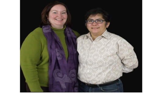 PHOTO: Kim Kiel (L) and partner Rose Griego say they're willing to wait for marriage equality in New Mexico. Courtesy of ACLU New Mexico.