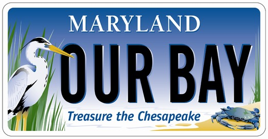 The Chesapeake Bay Trust is launching a contest to name the heron on its bay plates. Graphic Courtesy: Chesapeake Bay Trust