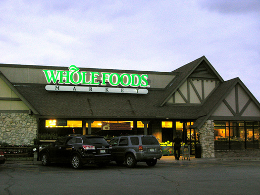 PHOTO: Whole Foods Market will be the first major retailer in the U.S. require labeling of all genetically modified foods sold in its stores. CREDIT: Kari Sullivan