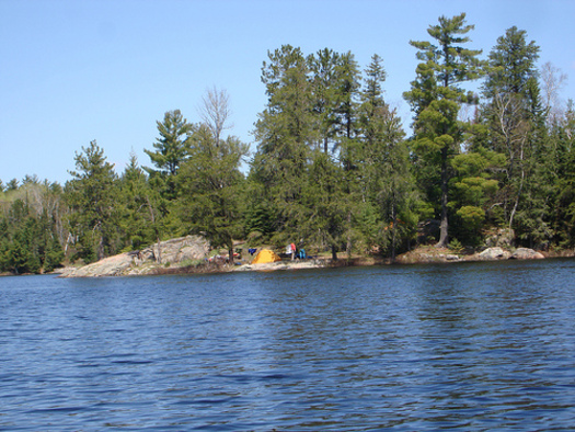 PHOTO: American Rivers has named the Boundary Waters Canoe Area Wilderness among America's Most Endangered Rivers of 2013, citing a proposed copper nickel mine at a popular entry point. CREDIT: Chad Fennell