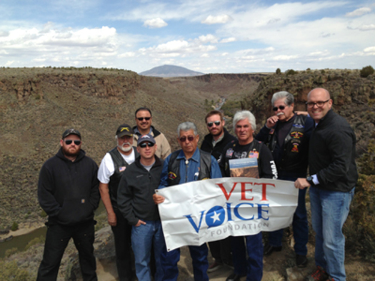 PHOTO: Veterans say their service to the country doesn't end with their military tours. Many are committed to helping protect public lands. CREDIT: Vet Voice Foundation.
