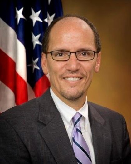 PHOTO: The nomination of Tom Perez as Labor Secretary will go up for a vote next week in the Senate Health, Education, Labor and Pensions Committee.