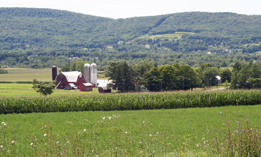 PHOTO: Dryden, NY's mostly rural landscape can be protected from oil and gas drilling and fracking by local land use ordinances, according to a ruling by a NY Appeals Court Thursday. Courtesy Town of Dryden.