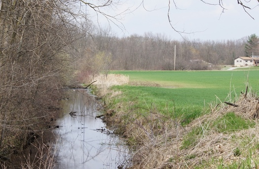 Early Spring rains are bringing more phosphorous from farm fields to rivers and stream and eventually Lake Erie, where record Algae blooms are now being recorded.