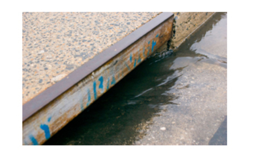 PHOTO: Storm water runs off into drains and often carries industrial waste and other pollutants. Legal action against a prospective horse slaughterhouse in Roswell alleges that its waste violates the Clean Water Act. Courtesy: EPA