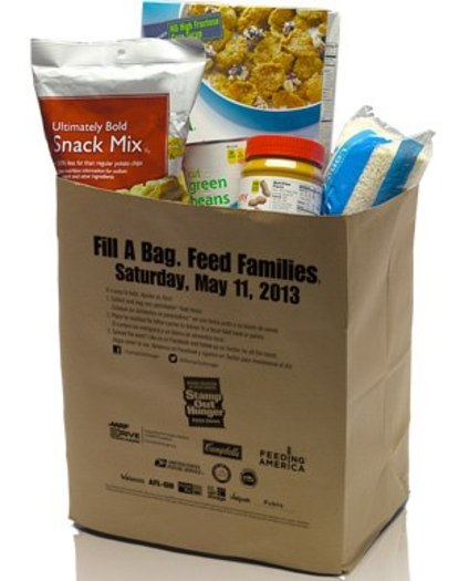 "PHOTO: Letter carriers across the state and the nation will be picking up food donations left by mailboxes on Saturday. ""Stamp Out Hunger"" is the largest one day food drive in the nation."