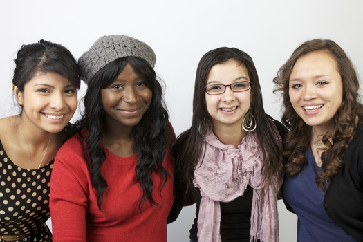 PHOTOS: These girls Beat the Odds and are being awarded college scholarships from the Children's Defense Fund of Minnesota. Left to right: Maria Cruz Mendiola, Dorothy O'Berry, Rachel Flores and Salina Samaniego. CREDIT: CDF-MN