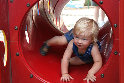 PHOTO: Making the transition into a summer child care program can be more fun and less stressful if parents know how to prepare their kids. CREDIT: Chad Smith