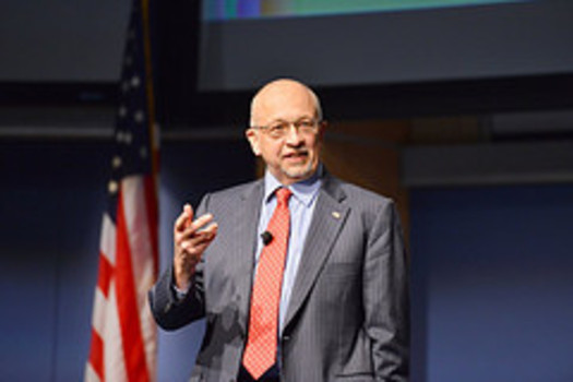 PHOTO: Paul Hommert is both director of Sandia National Laboratories and president of the executive board of Sandia Corporation, a for-profit LLC that runs the lab. Courtesy: National Nuclear Security Administration.