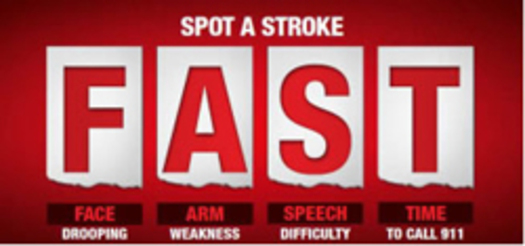 how to tell if someone is having a stroke acronym