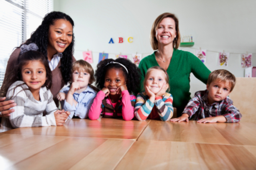 """PHOTO: Arkansas groups are part of a national """"Day of Action"""" to raise awareness about the importance of preschool, particularly for lower-income three- and four-year-olds. Photo credit: iStockphoto.com."""