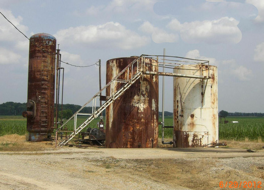 PHOTO: A new bill would halt the disposal of toxic fracking waste into injection wells in Ohio. Photo Credit: Donna Carver