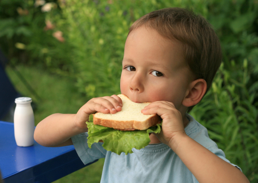 PHOTO: Only 12 out of 100 children who qualify for free or reduced-price meals during the school year in Utah also receive summer meals. Photo credit: iStockphoto.com.